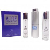 Antonio Banderas Blue Seduction Men, edp., 3*20 ml
