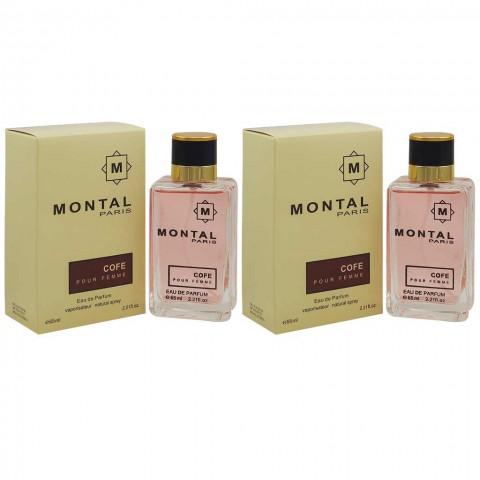 Montal Cofe Pour Femme, edp., 2*50 ml