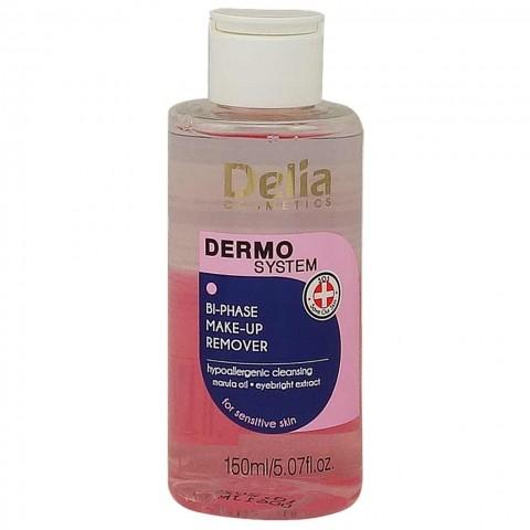 Delia Dermo System Двухфазная Жидкость для Снятия Макияжа, 150 ml