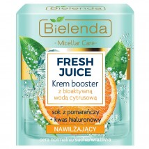 Bielenda Fresh Juice Увлажняющий крем с биоактивной цитрусовой водой Апельсин 50мл