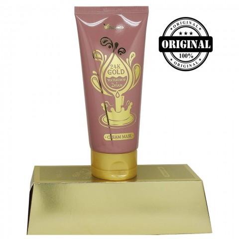 ЕЛЗ 24k Gold Крем-Маска Для Лица с 24-Каратным Золотом 24k Gold Waterdrop + 2hsam Cream Mask,150мл