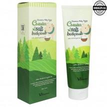 ЕЛЗ Скраб для тела с экстрактом зеленого чая Greentea salt Body scrub 600 гр (Корея)
