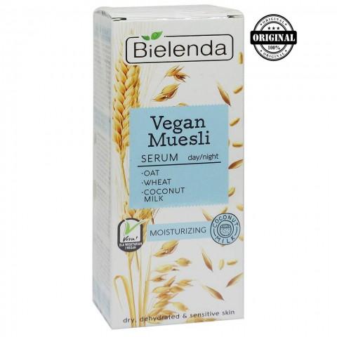 Vegan Muesli увлажняющая сыворотка пшеница + овёс + кокосовое молоко, 30 мл