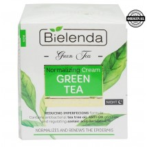 Bielenda Зеленый Чай Регулирующий крем ночной, 50 мл