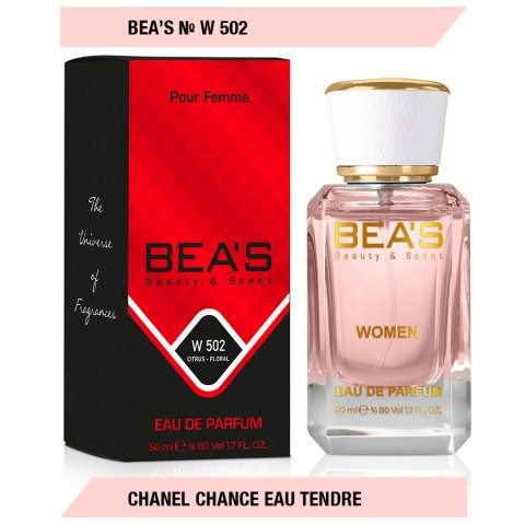Bea`s № W 502 (Chanel Chance Eau Tendre), edp., 50 ml