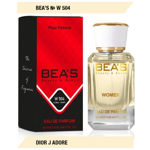 Bea`s № W 504 Dior Jadore, edp., 50 ml