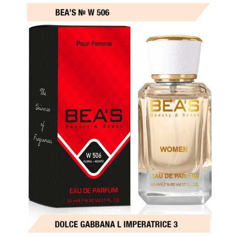 Bea`s № W 506 (Dolce Gabbana L`imperatrice 3), edp., 50 ml