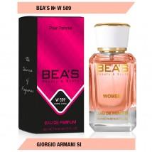 Bea`s № W 509 (Giorgio Armani Si), edp., 50 ml