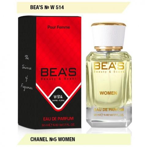 Bea`s № W 514 (Chanel № 5 Woman), edp., 50 ml