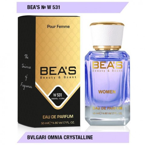 Bea`s № (W 531 Bvlgari Omnia Christalline), edp., 50 ml