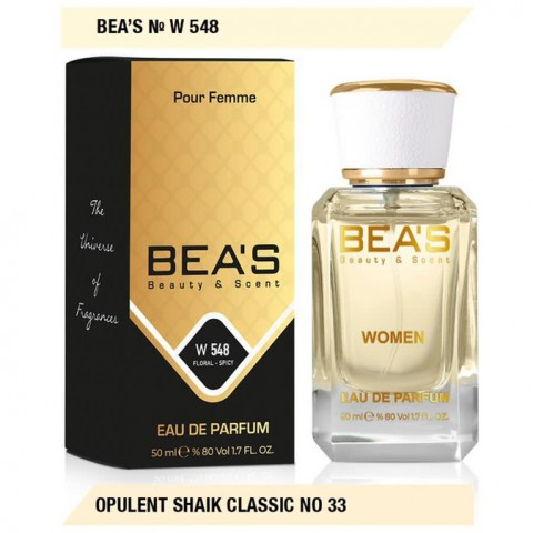 Bea`s № W 548 (Opulent Shaik Classic NO 33), edp., 50 ml