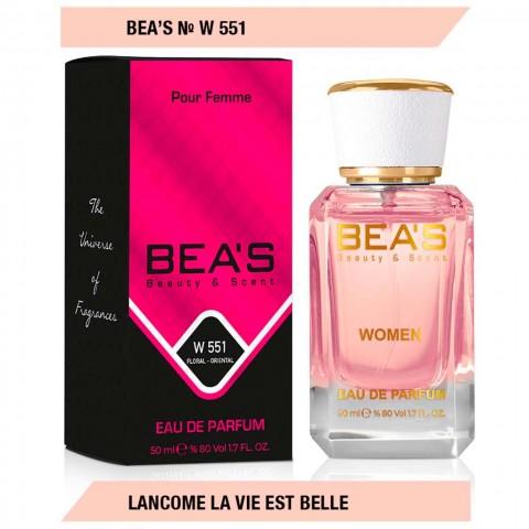 Bea`s № W 551( Lancome La Vie Est Belle), edp., 50 ml