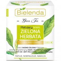 Bielenda Зеленый Чай Матирующий дневной крем от жирного блеска лица, 50мл