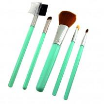 Кисти Для макияжа 5шт(цвета могут меняться)