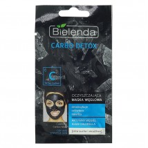 Маска Очищающая с активированным углем для сухой и чувствительной кожи, 8g