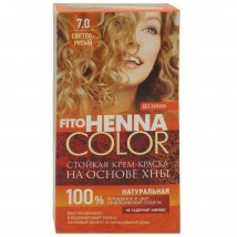 Краска Для Волос Fito Henna Color 7.0 (Светло-Русый)
