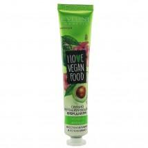 Eveline I Love Vegan Food регенерирующий крем для рук Гибискус и авокадо 50мл