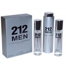 Carolina Herrera 212 Man, edt., 3*20 ml