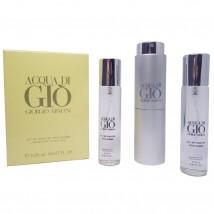 Giorgio Armani Acqua di Gio pour homme, 3*20 ml.