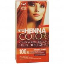 Краска Для Волос Fito Henna Color 5.46 (Медно-рыжий)