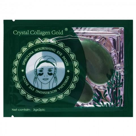 Патчи Collagen Crystal Eye Mask, 3 g (Зеленые)