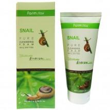 Пенка для умывания Farm Stay Snail, 180 ml