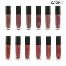 Помада rICH Matte Color Lip Gloss Слой 1 , 12 шт