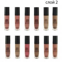 Помада rICH Matte Color Lip Gloss Слой 2 , 12 шт