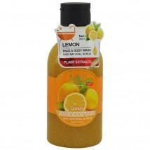 Скраб Для Тела Face Body Wash Lemon, 300 ml