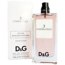 Тестер Dolce & Gabbana 3 L'Imperatrice, edt., 100 ml