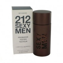 Тестер Carolina Herrera 212 Sexy Man, 100 ml