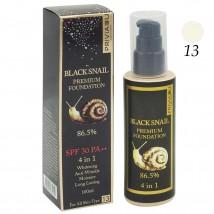 Тональный Крем Black Snail Premium Foundation 4 in 1 , (ton 13)