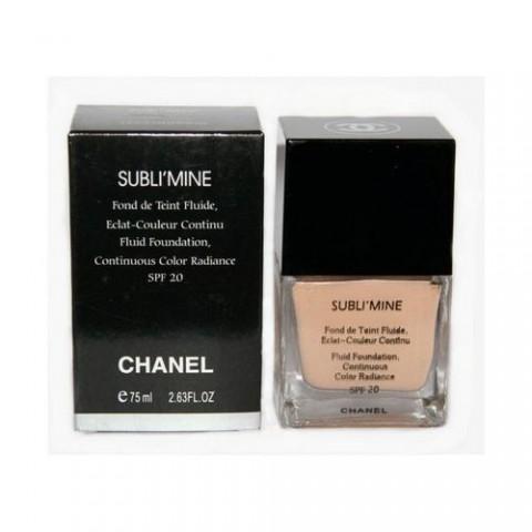 Тональный крем Chanel Sublimine 75 ml, тон 102